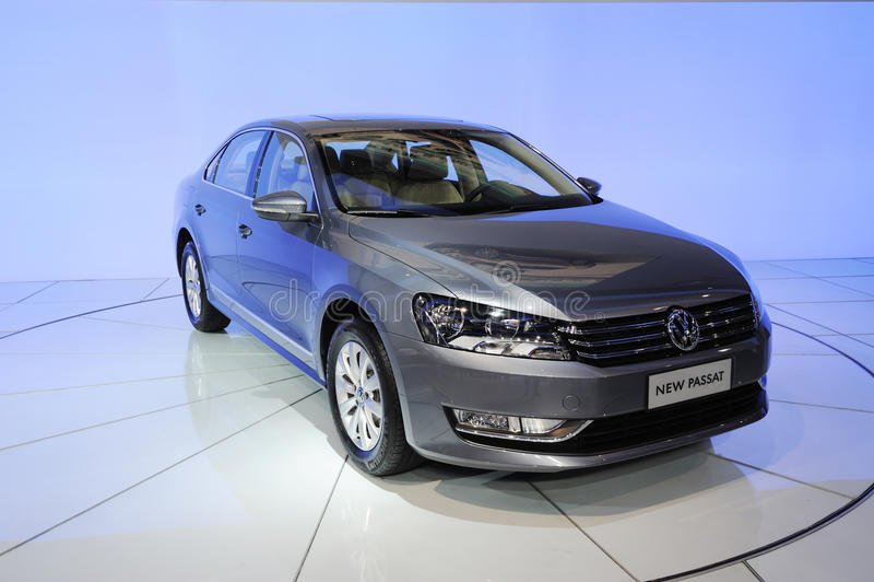 Neue Volkswagen Passat stockfoto