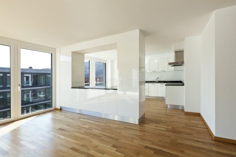 Download Neue Wohnung, Innen Stockbild. Bild Von Parquet, Schön   24324197