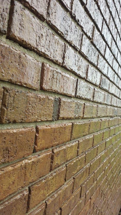 Neue Ziegelstein-Perspektive stockbild