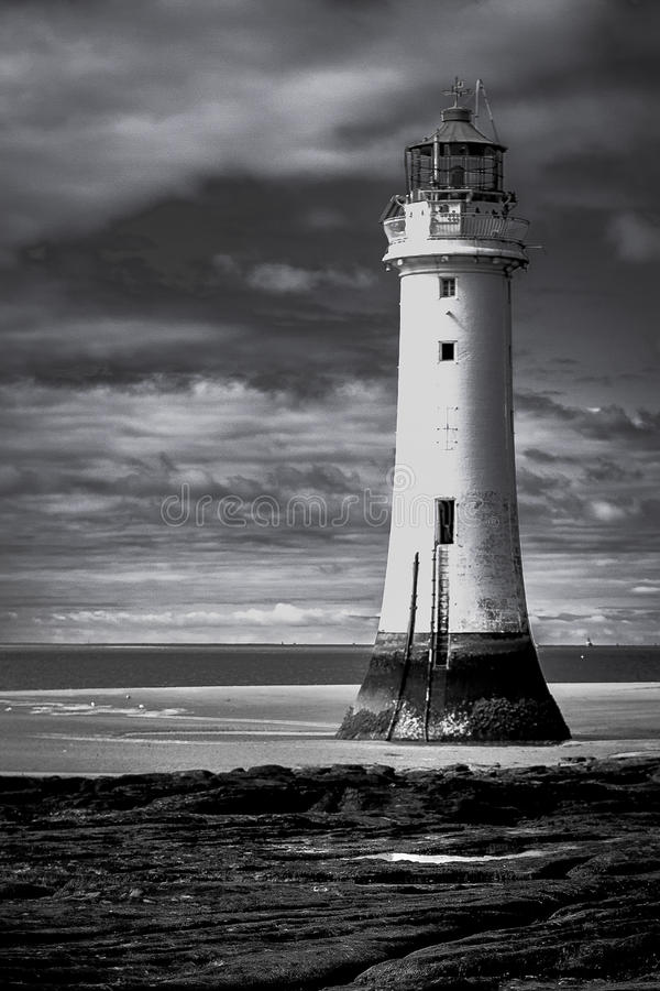 Neuer Brighton-Leuchtturm lizenzfreies stockbild