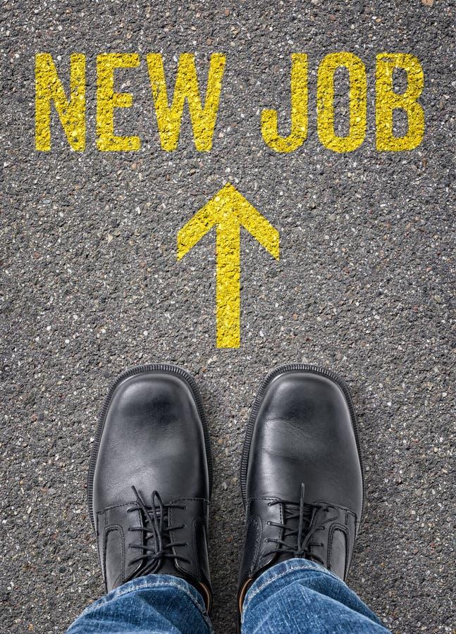 Neuer Job stockfotos
