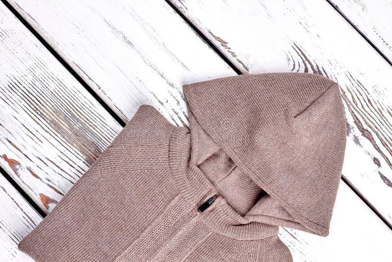 Neuer mit Kapuze Pullover für Kinder lizenzfreie stockfotografie