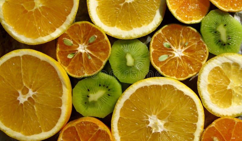 Neuer orange Zitrusfruchtschnitt lizenzfreies stockbild