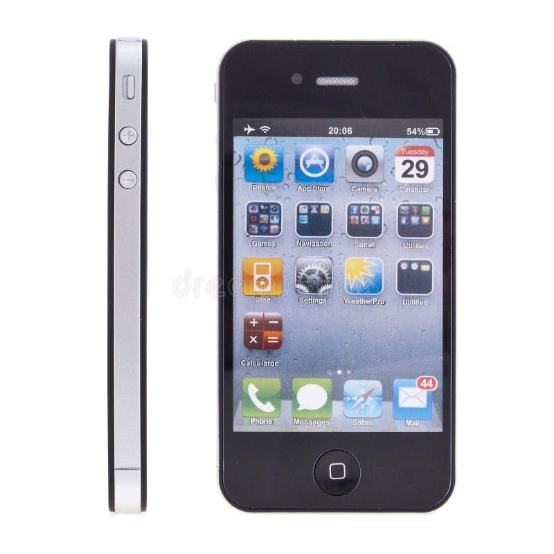 Neues Apple iPhone 4 lizenzfreie stockfotografie