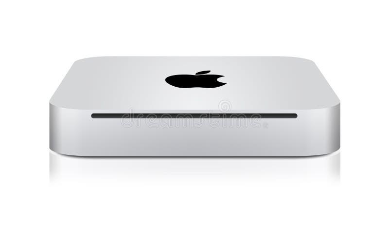 Neues Apple Mac Mini vektor abbildung
