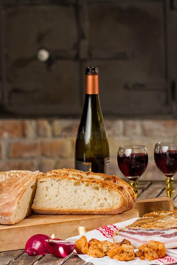 Neues Brot stockfoto