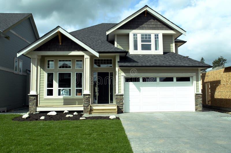 Neues Haus stockfoto
