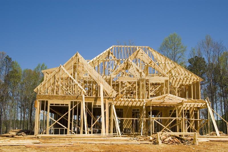 Neues Haus lizenzfreies stockfoto