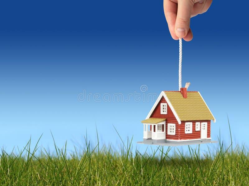 Neues Haus für Sie. lizenzfreie stockfotos