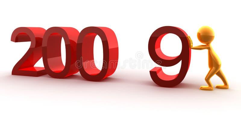 Neues Jahr stock abbildung