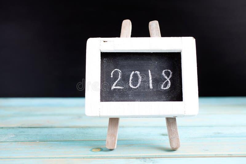 Neues Jahr 2018 stockbilder