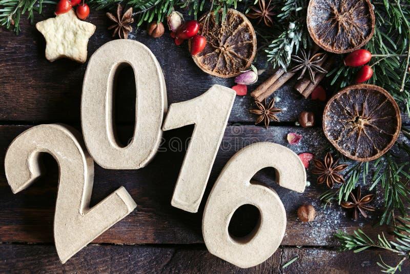Neues Jahr-Dekoration stockfoto