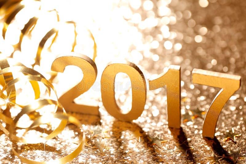 Neues Jahr-Dekoration stockbild