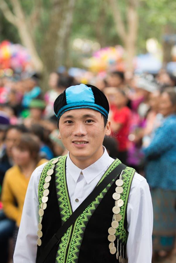 Neues Jahr-Feier Hmong lizenzfreies stockbild