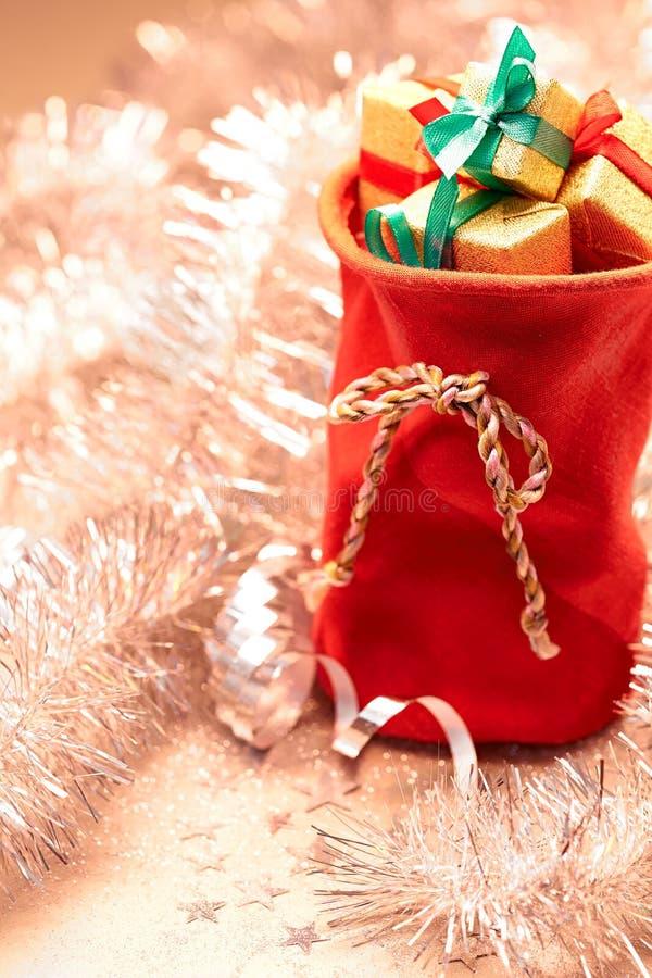 Neues Jahr 2016 Frohe Weihnachten, Santa Claus-Rot stockbilder