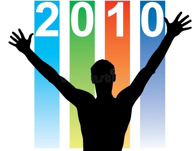Neues Jahr-Kalender vektor abbildung