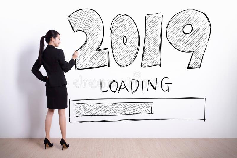 Neues Jahr lädt jetzt stockbilder