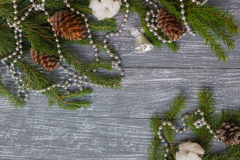 Neues Jahr oder Weihnachtstapete stockfoto