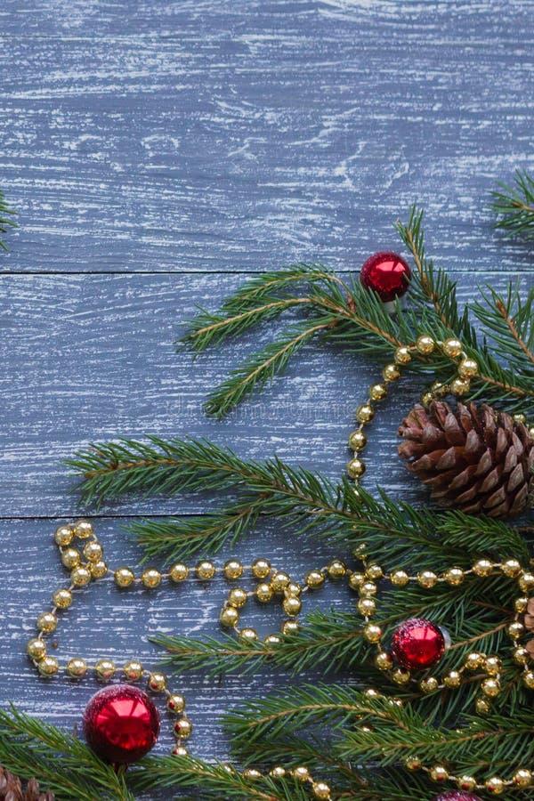 Neues Jahr oder Weihnachtstapete stockbilder