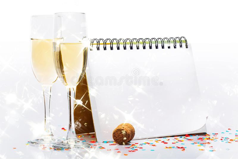 Neues Jahr ` s Eve lizenzfreie stockfotos