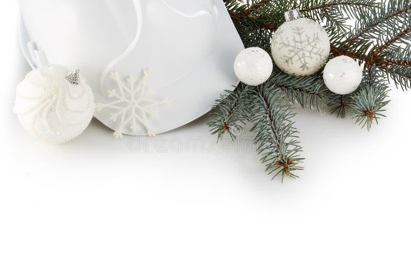 Neues Jahr und Weihnachten Beschneidungspfad eingeschlossen stockbilder