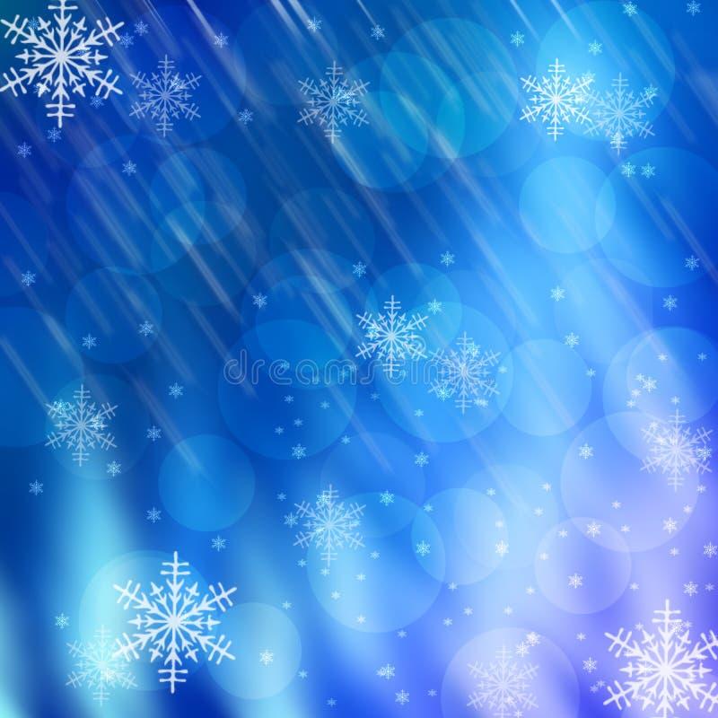 Neues Jahr-und Weihnachtshintergründe lizenzfreie abbildung