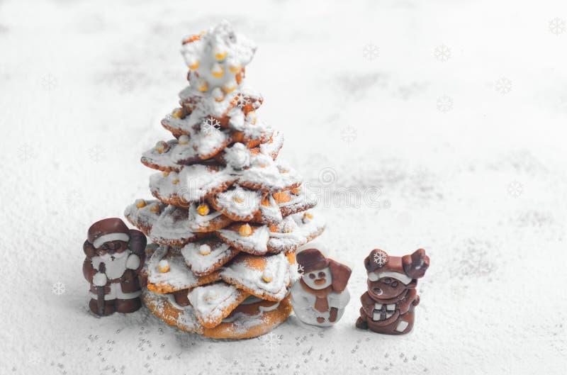 Neues Jahr-Weihnachtskarte lizenzfreies stockbild