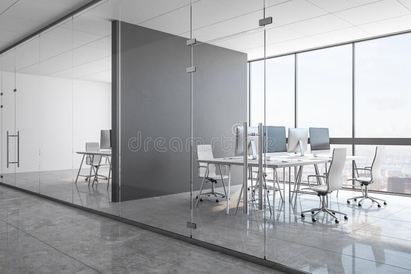 Neues konkretes coworking Büro vektor abbildung