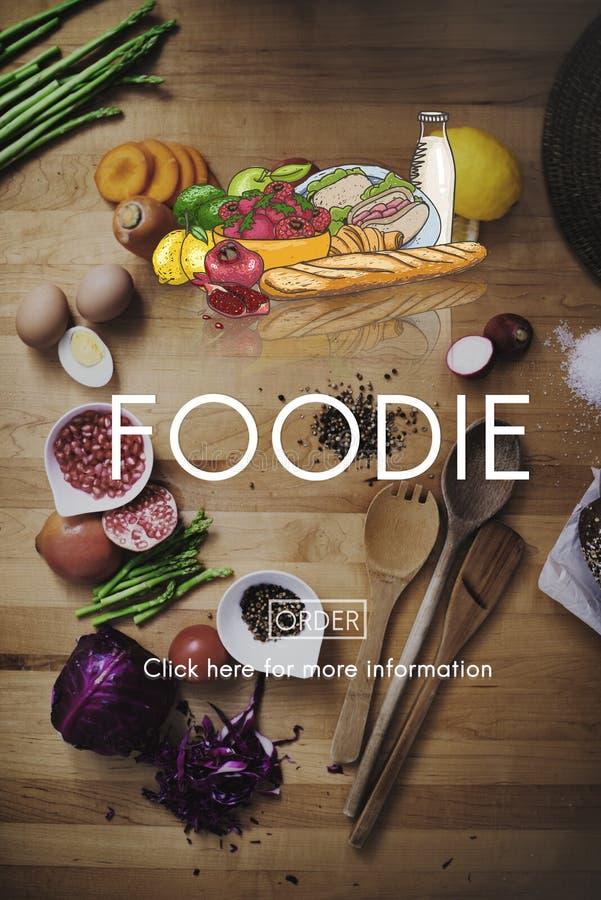 Neues Konzept organische gesunde Naturkost Foodie lizenzfreies stockfoto