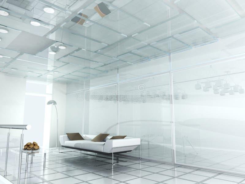 Neues modernes Büro 3d vektor abbildung