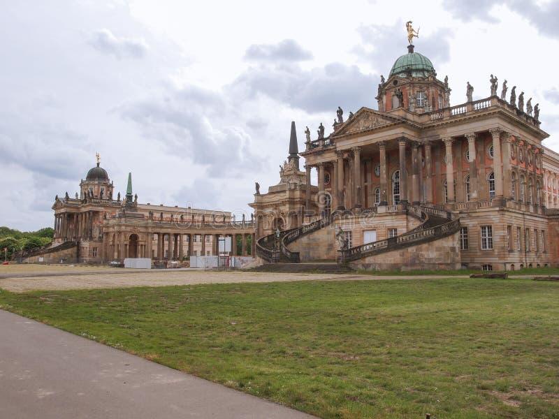 Neues Palais in Potsdam royalty-vrije stock foto's