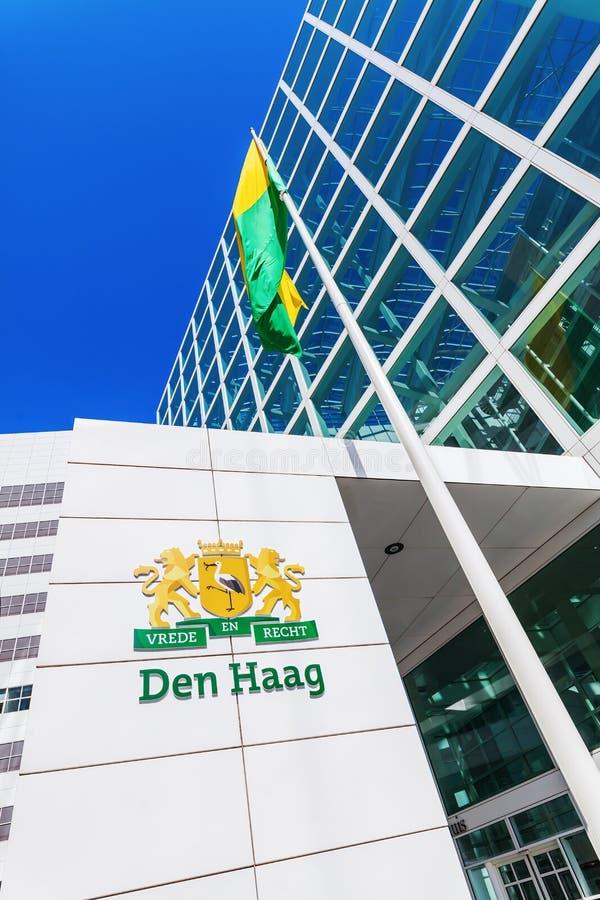 Neues Rathaus von Den Haag, die Niederlande lizenzfreies stockfoto