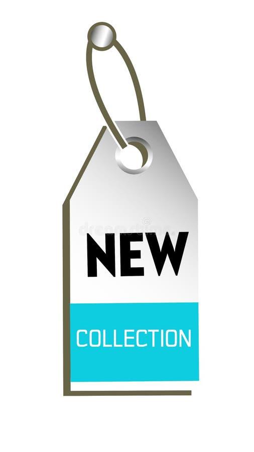 Neues Sammlungstag lizenzfreie abbildung