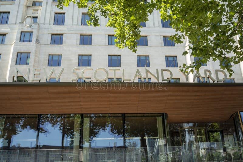 Neues Scotland Yard lizenzfreie stockfotos