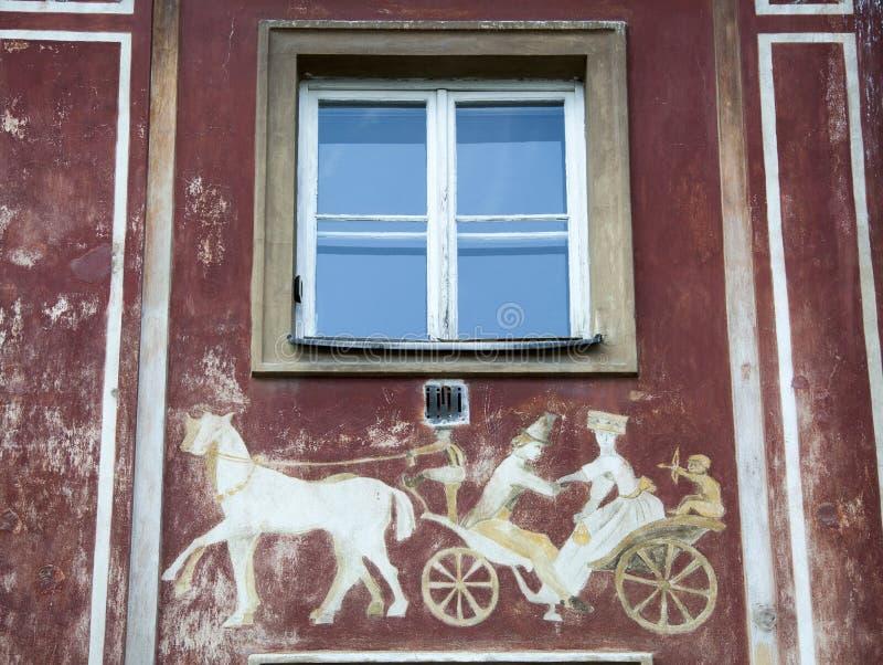 Neues Stadtäußeres Warschaus lizenzfreie stockfotografie
