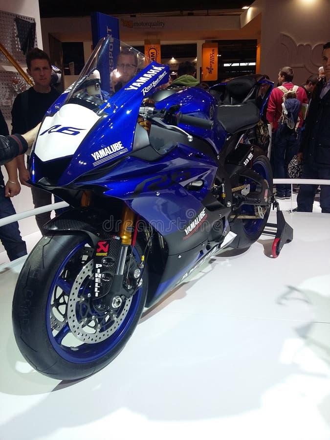 Neues Yamaha R6 stockfotografie