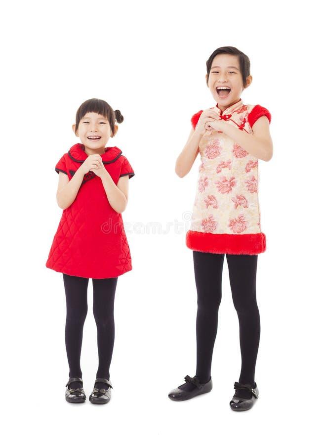 An neuf chinois heureux photo libre de droits