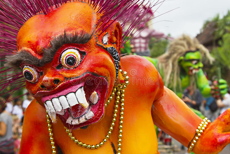 An neuf de Balinese image libre de droits