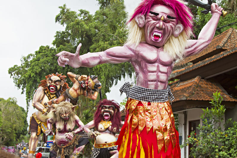 An neuf de Balinese images stock