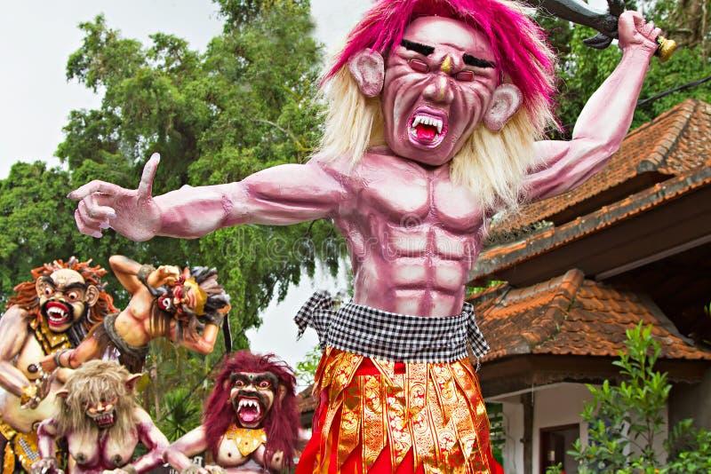 An neuf de Balinese photo libre de droits