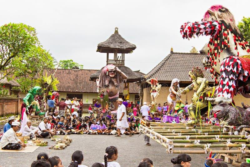 An neuf de Balinese photographie stock libre de droits