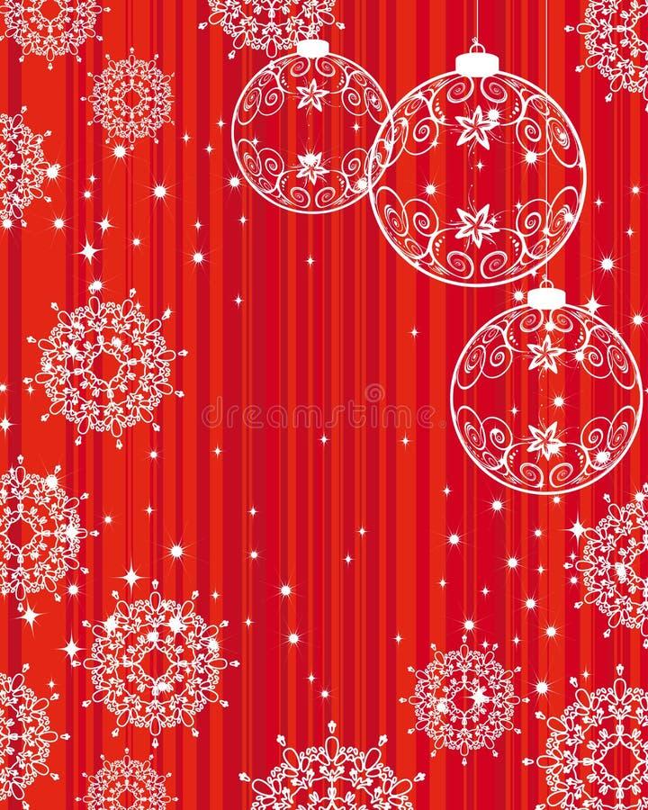 an neuf de Noël s de fond illustration libre de droits
