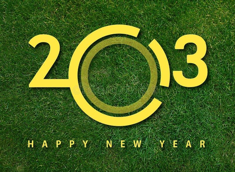 An neuf heureux 2013 photographie stock libre de droits