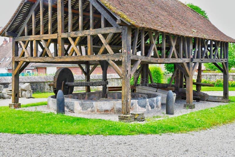 Neufchatel en Bray, France - june 23 2016 : Mathon Durand museum royalty free stock photos