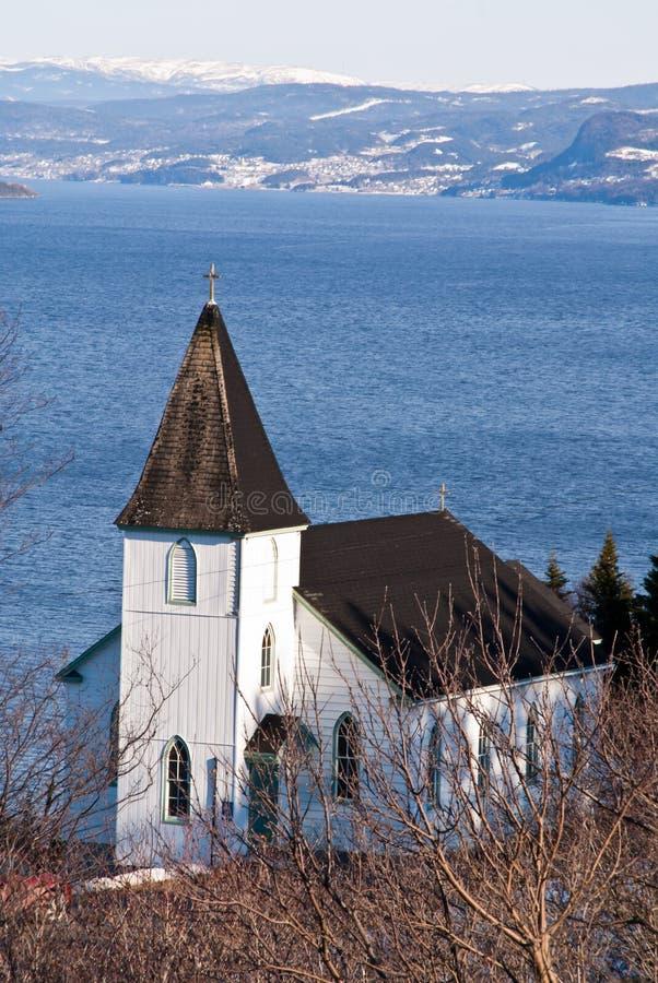 Neufundland-Kirche lizenzfreies stockfoto