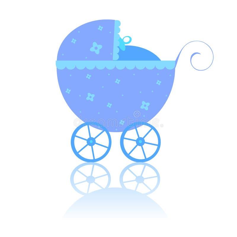 Neugeborener Wagen vektor abbildung