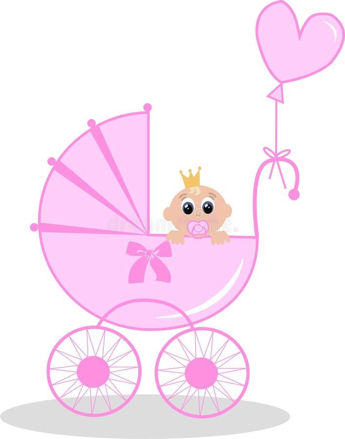 Neugeborenes Baby stock abbildung