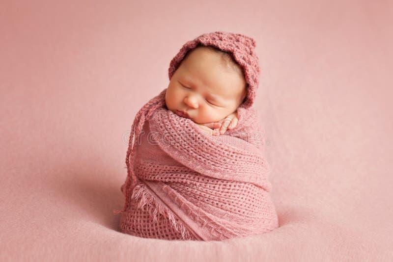 Neugeborenes Baby stockbild