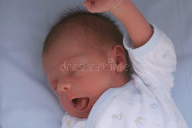 Neugeborenes Gegähne lizenzfreies stockfoto