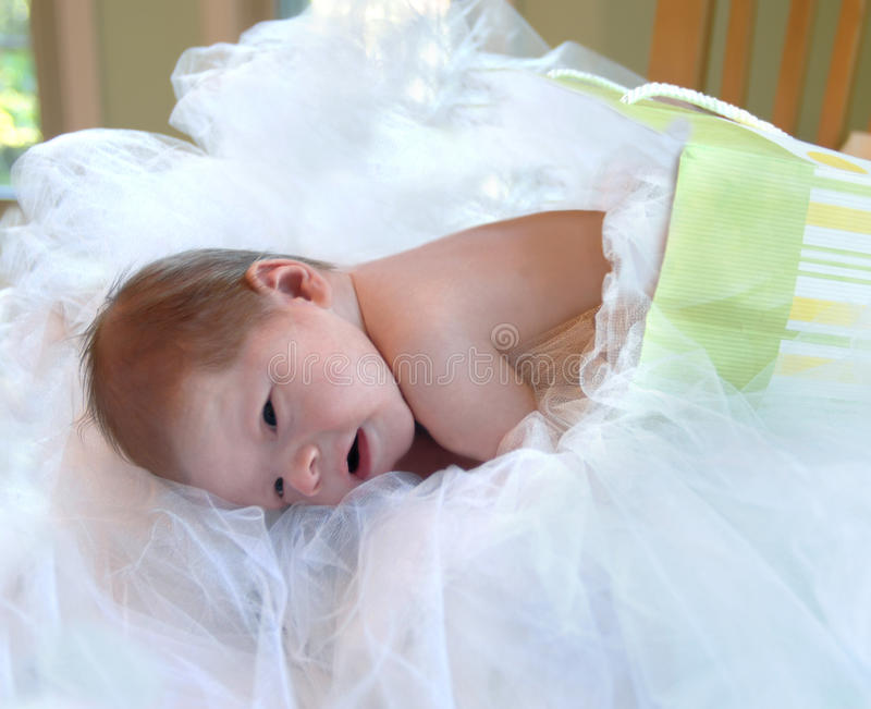 Neugeborenes Geschenk lizenzfreie stockbilder